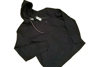 Men's Tommy Hilfiger Adaptive Full Zip Hoodie Sweatshirt Navy Blue Size L, M NEW