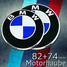 Emblem für BMW 82+74mm Motorhaube Kofferraum Logo Auto Zeichen Heckklappe
