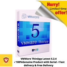 VMWare ThinApp Latest 5.2.4  ✔️100%Genuine Product with Serial ✔️Fast delivery