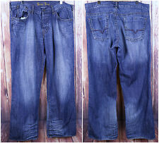 Guess Jeans Blue Denim Size 38 Pockets Straight Leg Premium Wash Pants