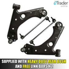 Fiat Grande Punto (199) 2006 - 2011 Wishbones Front Lower Suspension Arms Qty x2