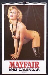Mayfair Calendar - Calendrier de Charme / Erotisme - Eds. Fisk Publishing - 1983