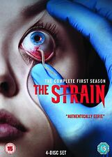 THE STRAIN (La Progenie) Stagioni 1 Serie Completa BOX 4 DVD in Inglese NEW .cp