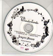 (CQ426) Jersey Bud, Wonderlands sampler - DJ CD