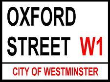 London Street Signe-Oxford Street-Métal Aluminium SIGNE