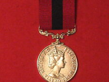 FULL SIZE DISTINGUISHED CONDUCT MEDAL DCM EIIR MUSEUM COPY MEDAL WITH RIBBON