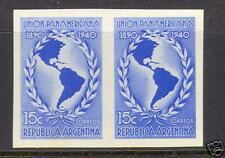 Argentina #473 Xf Mint Imperf Pair