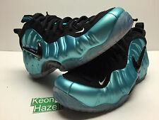 Nike Air Foamposite Pro Electric Blue Stealth Galaxy Metallic Red Sz 12 DS