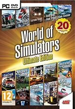 World of Simulators Ultimate Edition (PC DVD) BRAND NEW SEALED
