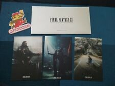 Lithographie Final Fantasy XV Rare Sony Playstation ps4