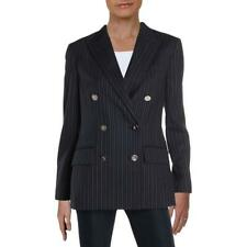 Lauren Ralph Lauren Womens Ryen Office Double-Breasted Blazer Jacket BHFO 5644