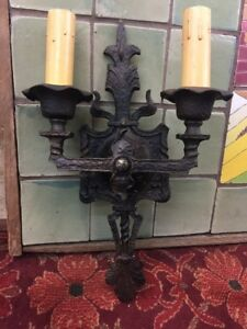 Spanish Bronze Sconce