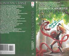 Elizabeth Scarborough Bronwyn'S Bane autographed book cover