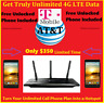 Get Unlimited 4G LTE Mobile Hotspot From AT&T & T-mobile Using My Router