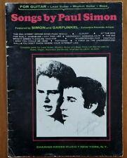 Vintage 1967 songs by Paul Simon / Garfunkel Sheet Music Book Charing Cross