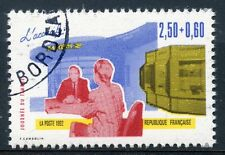 STAMP / TIMBRE FRANCE OBLITERE N° 2744 JOURNEE DU TIMBRE L'ACCUEIL / CARNET