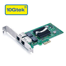 Intel 82576 Chip Gigabit Network Adapter (Nic), Dual RJ45 Port, as E1G42ET in US