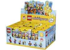 LEGO NEW SIMPSONS 2 SEALED CASE BOX OF 60 MINIFIGURES MINIFIGS 71009