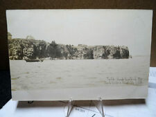 1910 RPPC Photo Postcard Todds Head Eastport Maine Most Eastern Point In The US