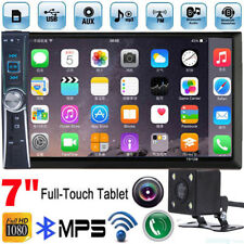 2 DIN 7 inch Car MP3 MP5 Player TV FM Bluetooth Touch Screen Stereo Radio+Camera