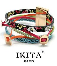 Luxus Breit Leder Armband Ikita Ibiza Brasilien Magnetverschluss Wickelarmband