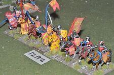25mm medieval / generic - cavalry 8 cavalry - cav (12192)