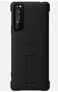 Sony Style Cover Stand for Xperia 1 III Black Case XQZ-CBBC