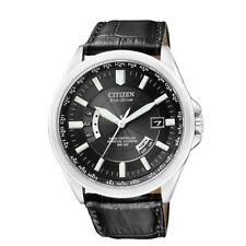 Citizen Elegant Eco-Drive Funk Solar Herren Armband Uhr CB0010-02E  Stahl