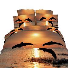 King Duvet Cover Set - 6 Piece Beach House 100% Cotton Dolce Mela Bedding DM426K