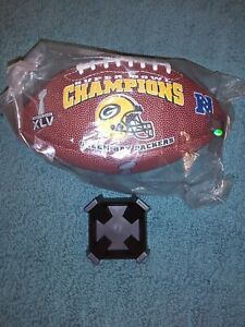 SUPER BOWL XLV 45 Authentic Sports Illustr NFL Game Football - GREEN BAY PACKERS