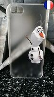 ★★★ Coque Plastique Rigide Apple IPHONE 4 - OLAF La Reine Des Neiges DISNEY ★★★