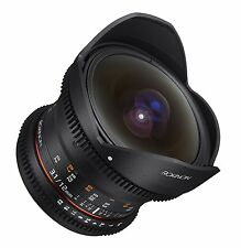 Rokinon Cine DS 12mm T3.1 Cine Fisheye Lens for Canon EF Digital SLR - DS12M-C