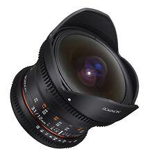 Rokinon Cine DS 12mm T3.1 Cine Fisheye Lens for Nikon Digital SLR - DS12M-N