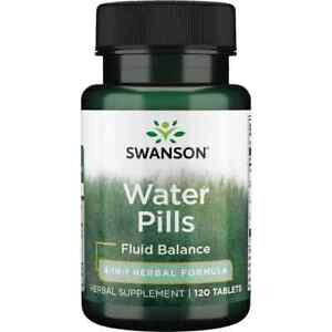 Swanson Best Weight-Control Water Pills 120 TABLETS water retention & bloating