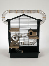 Hamster Cage Rodents Mice Wheel Water Bottle House Animal Gerbil Tubes Mouse