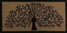 Tree of Life Doormat Front Door Welcome Mat Coconut Fibre Rubber Rug 90x45cm