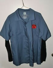 """Cool Philips 66 work style shirt """"Racing Every Friday Night cars on the back"""