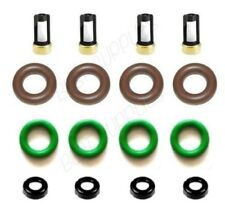Denso Fuel Injector Repair Kit O-rings Filters Caps for Chevy Pontiac Saturn