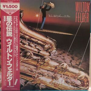 Wilton Felder: We All Have A Star (VIM 5598). Jazz LP. Japan NM Vinyl