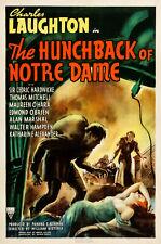 The Hunchback of Notre Dame - 1939 - Charles Laughton Maureen O'Hara Drama DVD