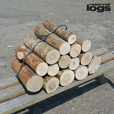 Full Round Hardwood Decorative Ash Logs Fine Sawn Ends 20cm Long covers 0.12m2