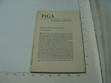 New Listingvintage Original PaGa printing graphic arts Philadelphia Fine Printing 1780-1820