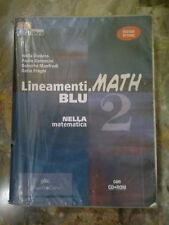 Lineamenti.MATH BLU 2 - Nella Matematica - Con CD Rom