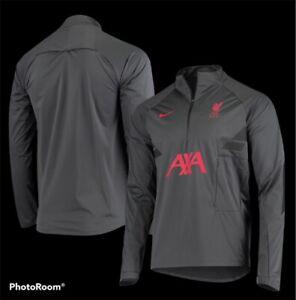 Liverpool Nike Shield Strike Performance Drill 1/4 Zip Soccer Jacket Men's L