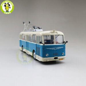 1/64 SKODA 8TR Trolleybus Diecast Model Car Bus Toys Gifts