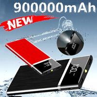 Ultra-thin Portable Power Bank External Battery 900000mAh High Capacity Charger