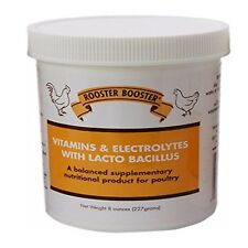 TDL Rooster Booster Vitamins and Electrolytes Lactobacillus Poultry Care Jar 8oz