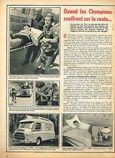 E- Publicité Advertising 1955 Les Comprimés Aspro sur le Tour de France