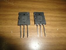 ORIGINAL NEW AUDIO TRANSISTORS 2SA1943 & 2SC5200  SHIPS FROM USA