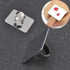 Palette Adjustable Ring for Nail Art Foundation Mixing Makeup Stainless Steel